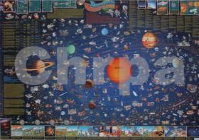Detská mapa slnečnej sústavy