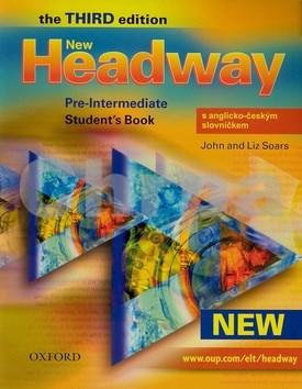 New Headway Pre-Intermediate Third edition Student´s Book with czech wordlist