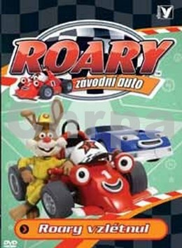 Roary, závodní auto Roary vzlétnul