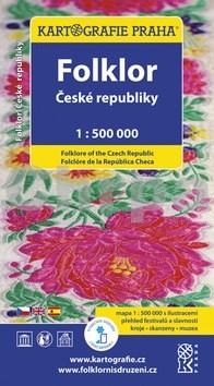 Folklor České republiky 1:500 000