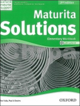 Maturita Solutions Elementary Workbook with Audio CD PACK Czech Edition