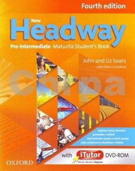 New Headway Pre-Intermediate Maturita Fourth Edition Student´s Book + iTutor DVD