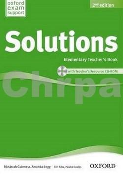 Maturita Solutions Elementary Teacher's Book with Teacher's Resource CD-ROM