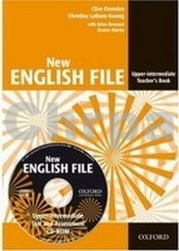 New English File Upper Intermediate Teacher´s Book + Test Resource CD-ROM