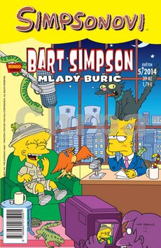 Bart Simpson Mladý Buřič