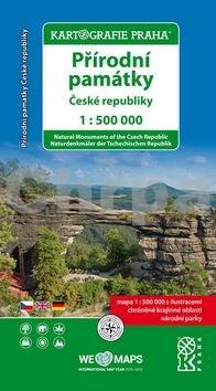 Přírodní památky České republiky 1:500 000