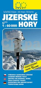 Jizerské hory Lyžařská mapa 1:60 000