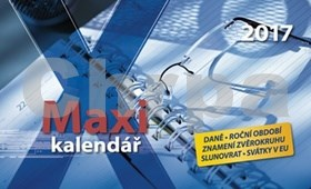 Maxi kalendář 2017 - stolní kalendář