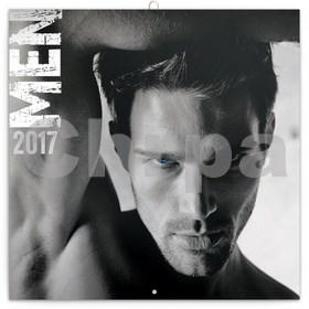 Muži - nástěnný kalendář 2017