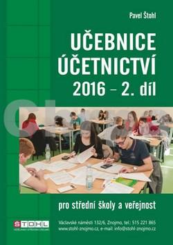 Učebnice Účetnictví 2016 - 2. díl