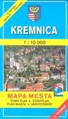 Kremnica 1 : 10 000 Mapa mesta Town plan Stadtplan Plan miasta Várostérkép