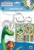 Omalovánkový set s pastelkami Hodný dinosaurus