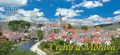 Čechy a Morava 2019 - stolní kalendář