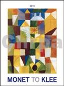 Monet to Klee 2019 - nástěnný kalendář