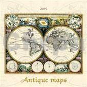 Antique maps 2019 - nástěnný kalendář