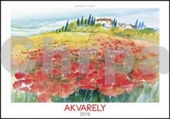 Akvarely 2019 - nástěnný kalendář