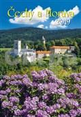 Čechy a Morava 2019 - nástěnný kalendář