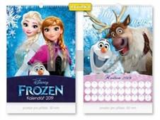 Disney Frozen - nástěnný kalendář 2019