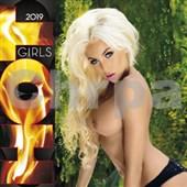 Hot girls 2019 - nástěnný kalendář