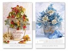 Flowers - nástěnný kalendář 2019