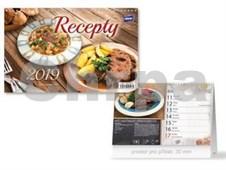 Recepty - stolní kalendář 2019