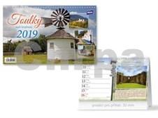 Toulky naší krajinou - stolní kalendář 2019