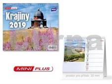 Mini Krajiny - stolní kalendář 2019