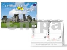 Čtrnáctidenní MAXI - stolní kalendář 2019