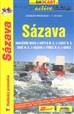 Sázava - vodácký průvodce 1:50T