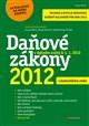Daňové zákony 2012 s komentářem změn