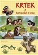 Krtek a kamarádi z lesa - omalovánka