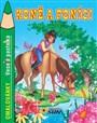 Veselá pastelka Koně a poníci omalovánky