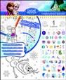 Stolní kalendář Ledové království